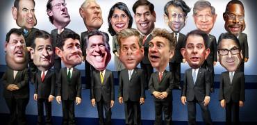 Republikaner - Debatte TV-Debatte -Primaries Vorwahlmarathon